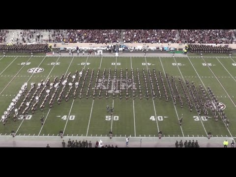Fightin' Texas Aggie Band Halftime Show - 4-Way Cross for LSU Game at Kyle Field - Nov 24, 2016