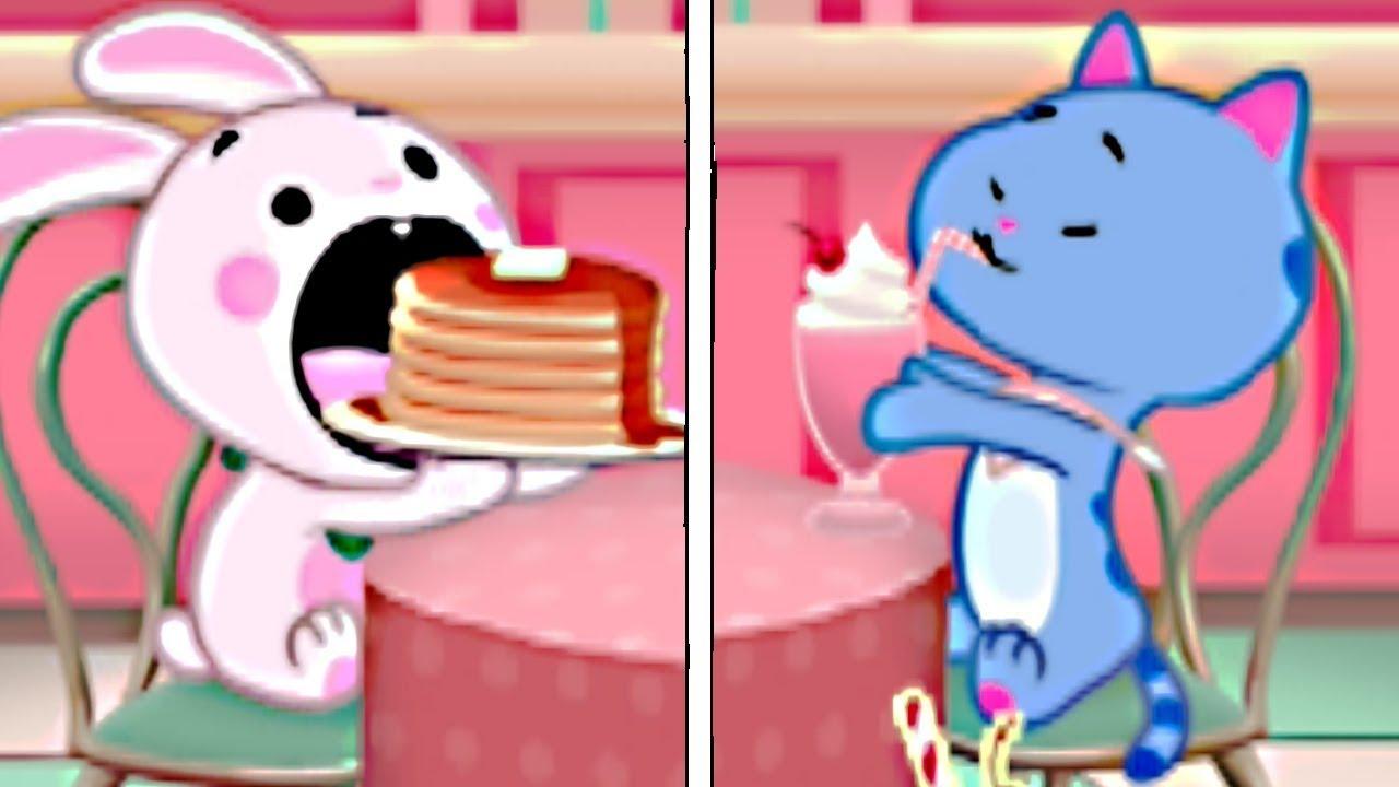 Bunny Pancake Cat Milkshake Unofficial Pc Game Wreck It