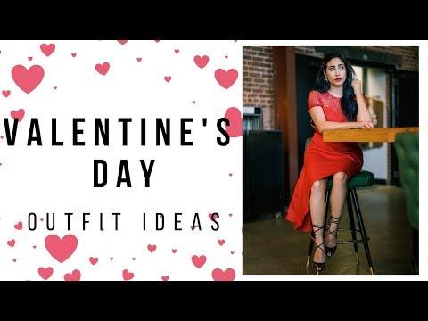 Valentine's Day Outfit Ideas! | Valentine's Day Lookbook 2019 | Design by Brianna