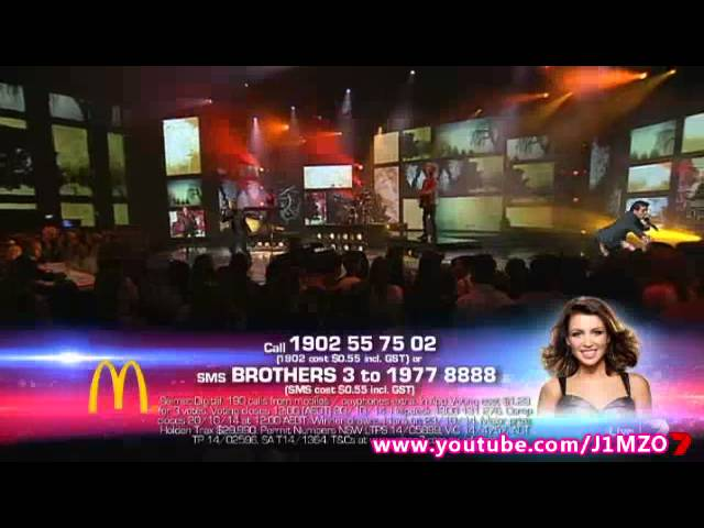 VOTING NUMBERS - Week 11 - Live Show 11 - The X Factor Australia 2014 Top 3 - GRAND FINAL