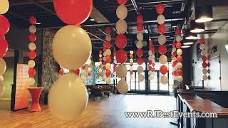Ceiling Balloon Décor
