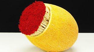 Smart Experiment Melon vs Matches