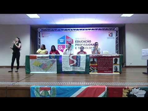 Fábio Bezerra palestra sobre tecnologia social no Seminário EPT