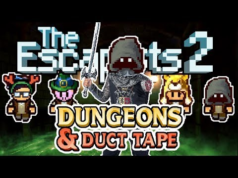 The Escapists 2: 4-Player - Dungeons & Duct Tape - #3 - S-Words for Rik