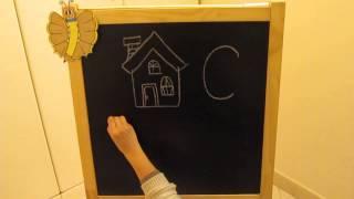 C: Impara l'alfabeto giocando - Alfabeto italiano per Bambini