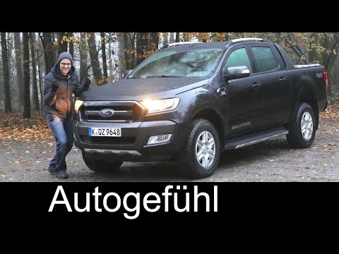 Ford Ranger Wildtrak FULL REVIEW test driven all-new neu generation 2017 (Everest/Endeavour)
