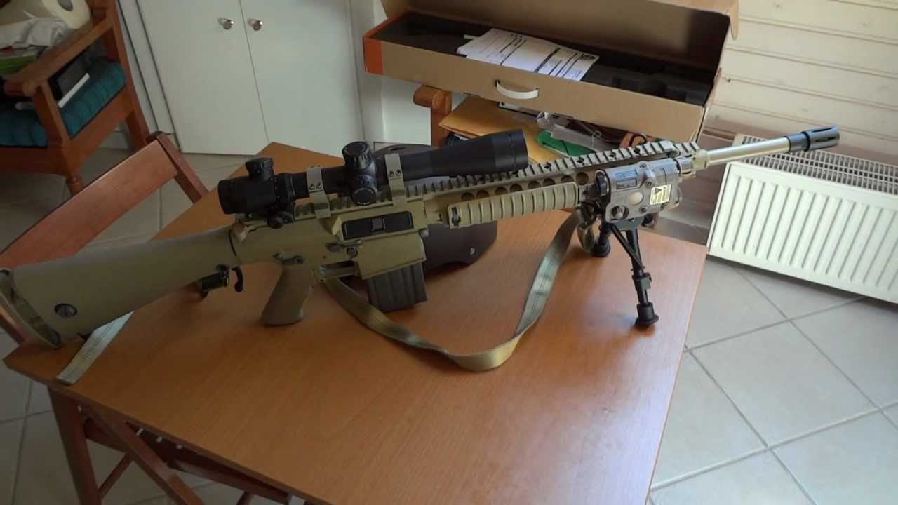Ares SR 25 M110 SASS PEQ 15 Update