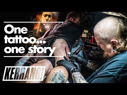 PIG DESTROYER's Scott Hull Gets Tattooed By PAUL BOOTH at Last Rites