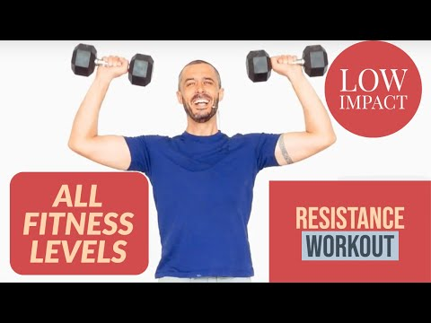 Upper body resistance workout for ALL LEVELS