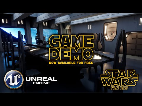 Star Wars: Droid Control Ship - Unreal Engine 4 (Game Demo now available)