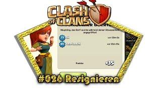 Let's play Clash Of Clans #026 - Resignieren [Deutsch / German][LP iOS IPhone]