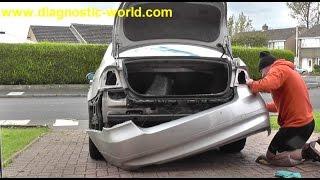 BMW E90 Rear Bumper Removal Guide