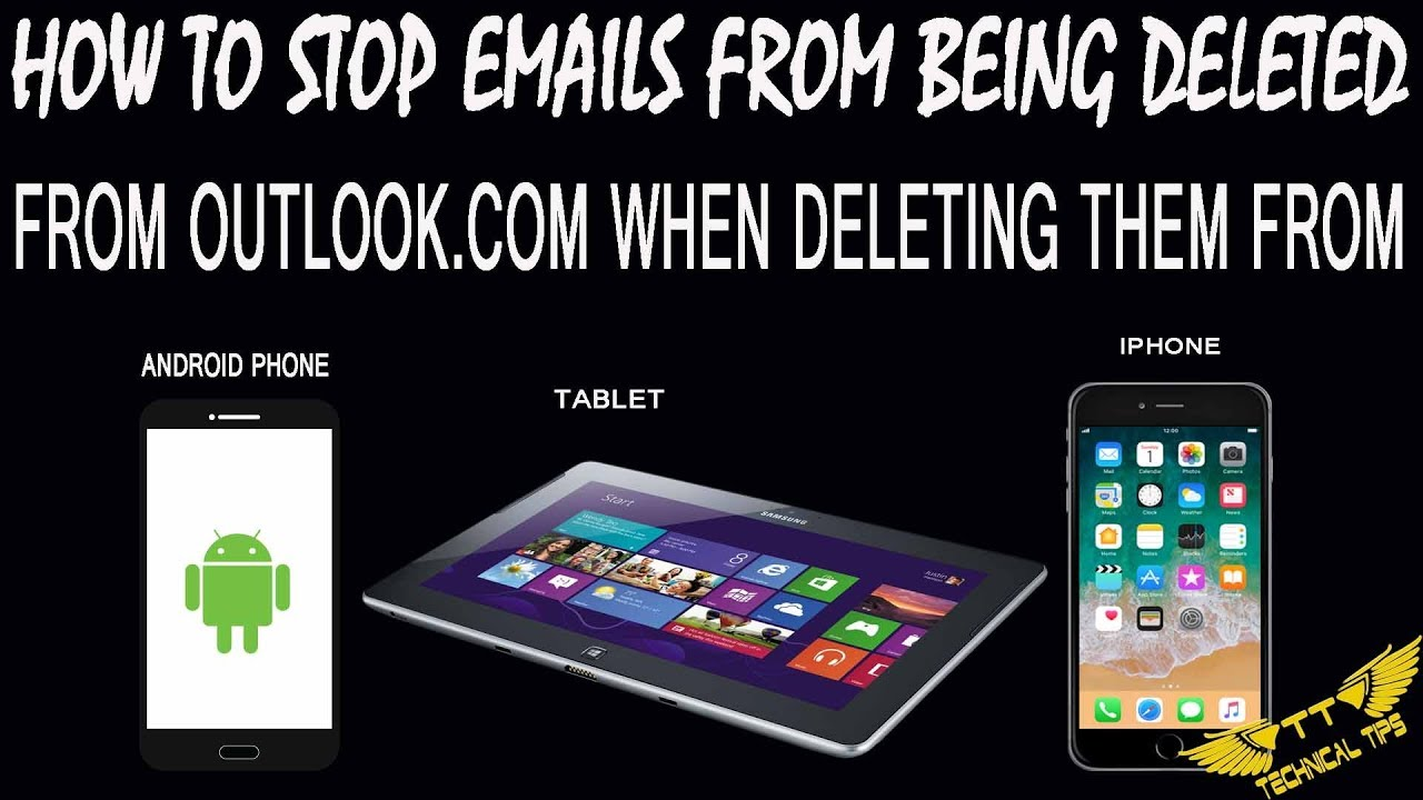 how to delete emails off android phone