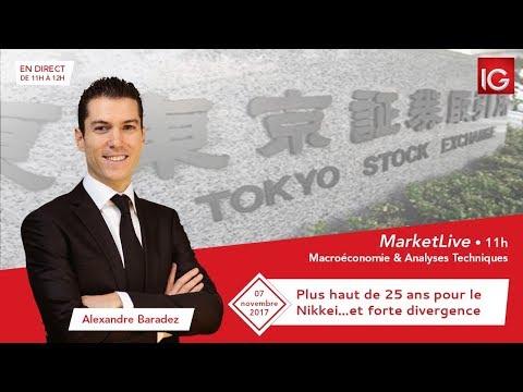 #MarketLive 11h - Mardi 7 novembre 2017