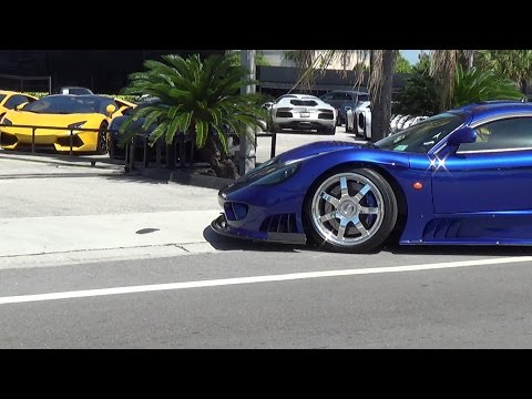 Saleen S7 Twin Turbo 750 HP V8 Super Sport Coupe one of the fastest supercars made in America