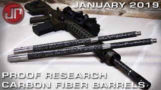 Proof Research Carbon Fiber Barrels - New Product Showcase - JANUARY 2019