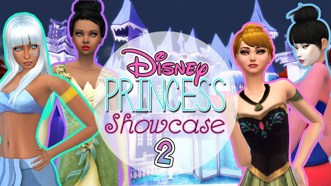 The Sims 4: Disney Custom Content Showcase #2 ♛ - YouTube