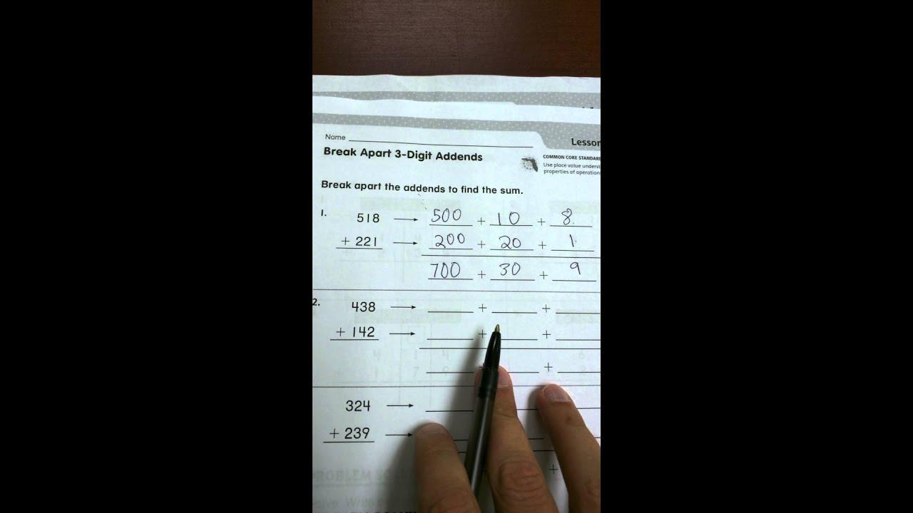 2nd Grade Go Math Lesson 6 2