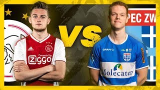 DANI HAGEBEUK (AJAX) vs TONY KOK (PEC ZWOLLE) | Halve Finale | PS4 | eDivisie