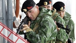 Морские пехотинцы против чеченских боевиков