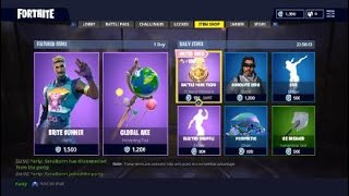 Fortnite *NEW* Bright gunner skin and global pickaxe