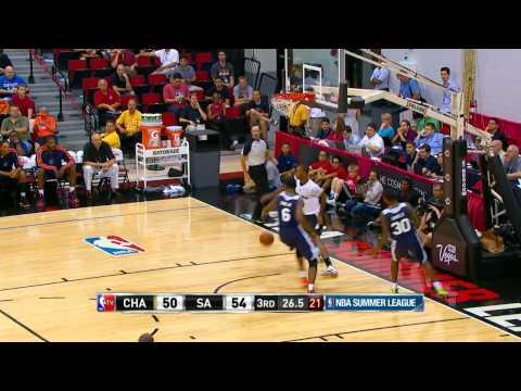 Charlotte Bobcats vs San Antonio Spurs Summer League Recap