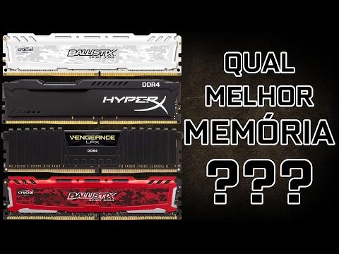 ✔️ QUAL A MELHOR MEMÓRIA???