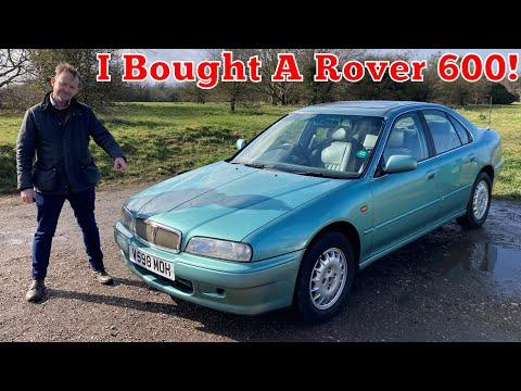 I Bought A Rover 600! Collecting my 1999 623GSi