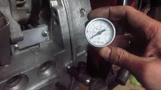 днепр- давление масла-установка манометра