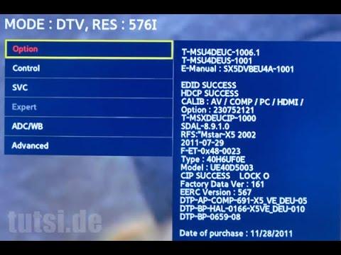 samsung tv factory reset. thumbnail: service menu tv samsung - secreto reset fabrica tv factory t