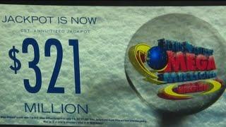 Mega Million Jackpot reaches $321M