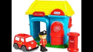 Store Close Look At Little Tikes Tikeland Post Office Toy Playset
