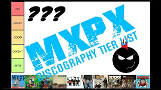 MXPX DISCOGRAPHY TIER LIST (FULL VIDEO)   RANKING ALL FULL LENGTH ALBUMS