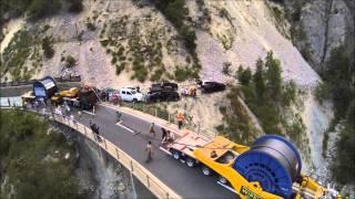 Convoi câbles liaison Grimentz-Zinal juillet 2013