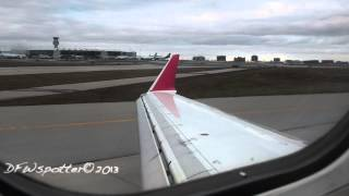 Air Canada Jazz CRJ-700 Landing At Toronto Pearson International Airport [HD]