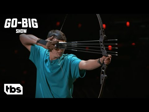 Go Big Show: James Shocks the Judges With His Bow and Arrow Skills (Clip) | TBS