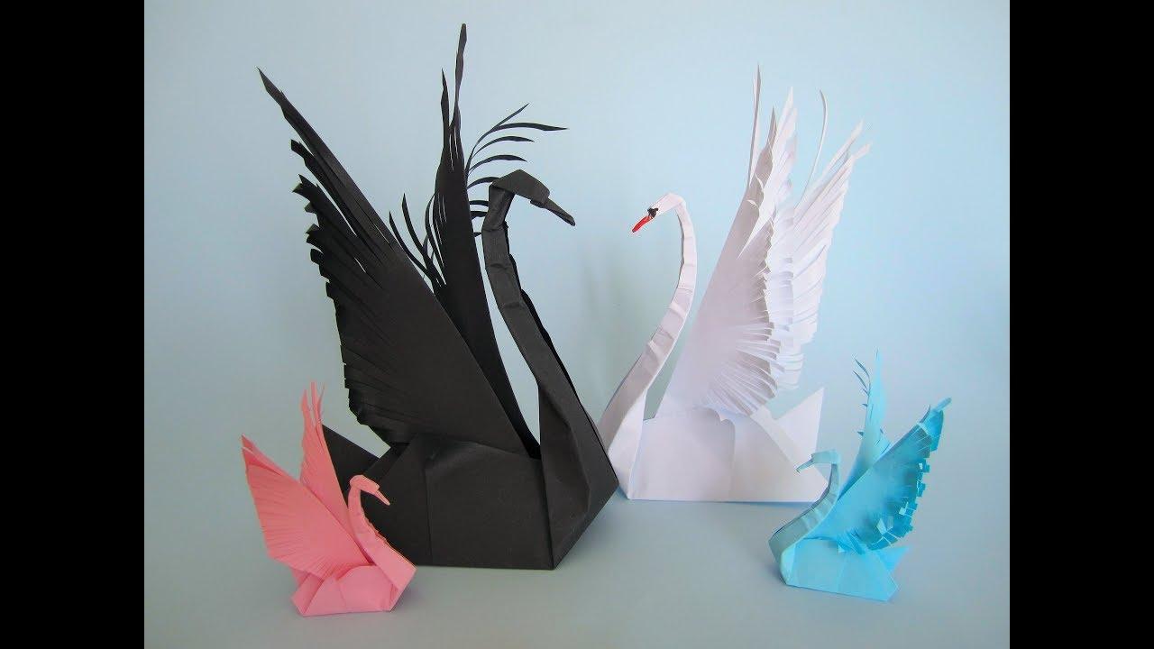 Swan Schwan Origami Diy