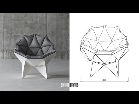 Q1 Lounge Chair By. ODESD2