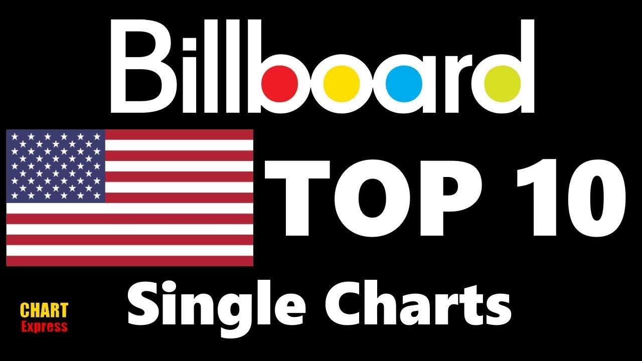 Top 10 Singles Chart Usa