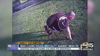 Mesa man claims police brutality, files lawsuit against city