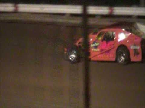 Western Kentucky Speedway Emods Wreck  05/09/09