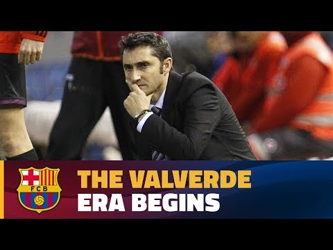 The new Barça coach brings his vast experience to Camp Nou