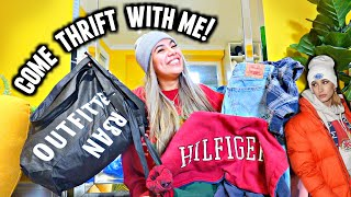 HUGE THRIFT HAUL!  My thrifting tips to finding the good stuff... Hailey Bieber aesthetic