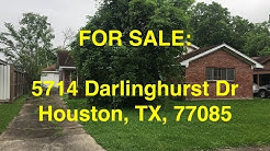 Houston HUD Homes -- HUD King tours 5714 Darlinghurst Dr