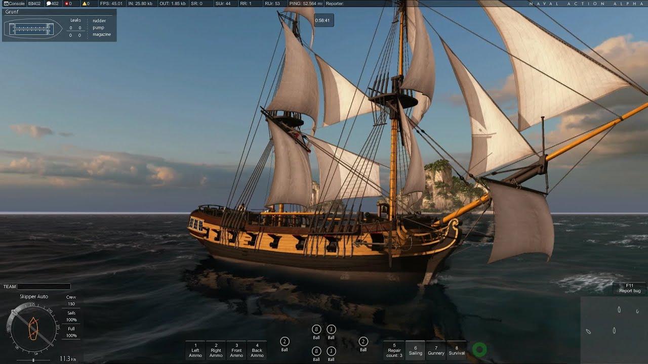 Naval action trader ships
