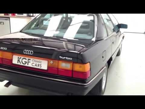 A Magnificent and Sporting Audi 200 Turbo with Full Service History - SOLD!