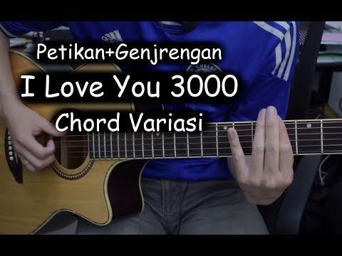 Belajar Gitar (I Love You 3000 - Stephanie Poetri)