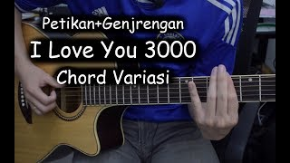 Gambar cover Belajar Gitar (I Love You 3000 - Stephanie Poetri)