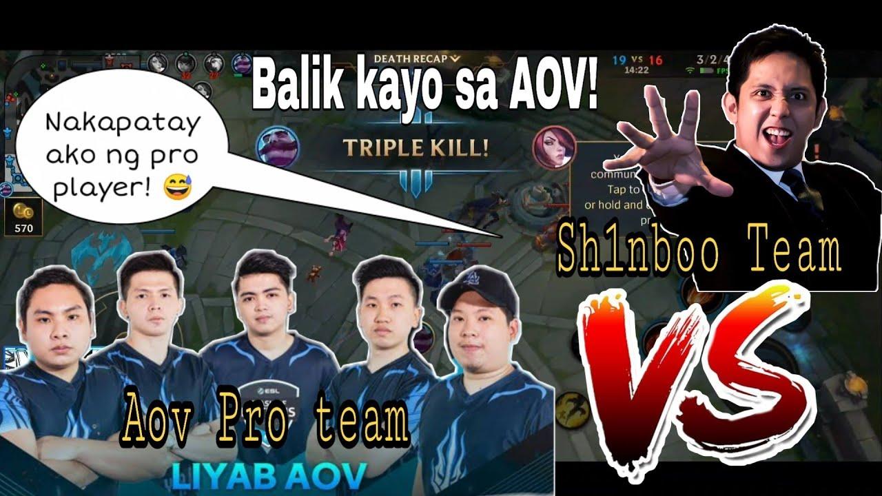 [ALPHA TEST] League of legends: Wild Rift Mobile - Shyvanna full AP (Sh1nboo vs AOV Pro Team)