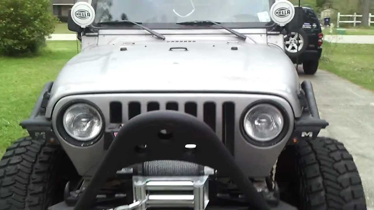 My 2000 Jeep Wrangler Tj Youtube